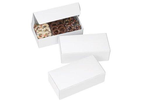 Wilton Chocolate Candy Boxes White pk/3