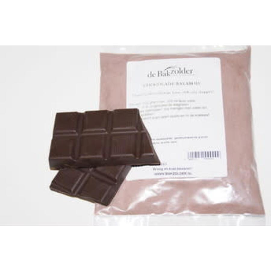 Chocolade bavarois-2