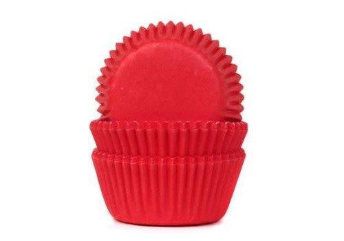 House of Marie Mini Baking Cups Red Velvet pk/60