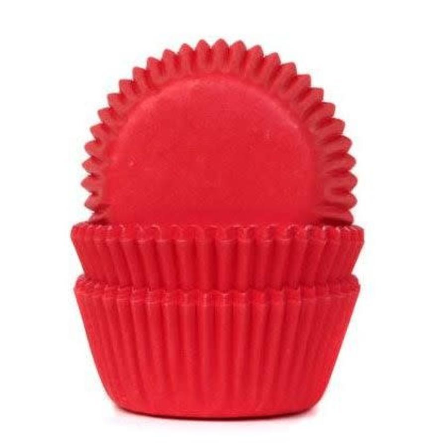 House of Marie Mini Baking Cups Red Velvet pk/60-1
