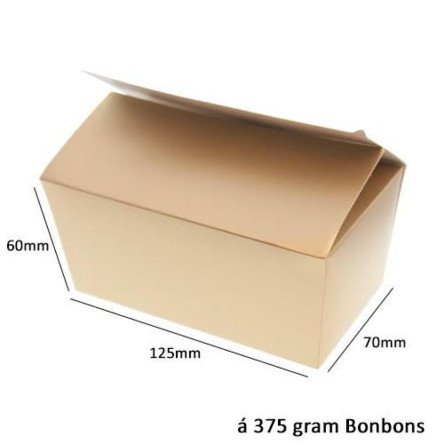Bonbon doosje Goud 375 gram-1