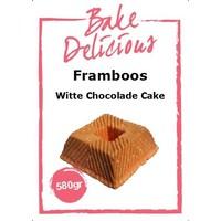 Framboos Witte Chocolade cake 580gr