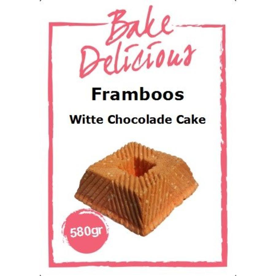Framboos Witte Chocolade cake 580gr-1
