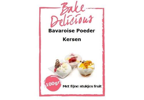 bake delicious bavarois Kersen