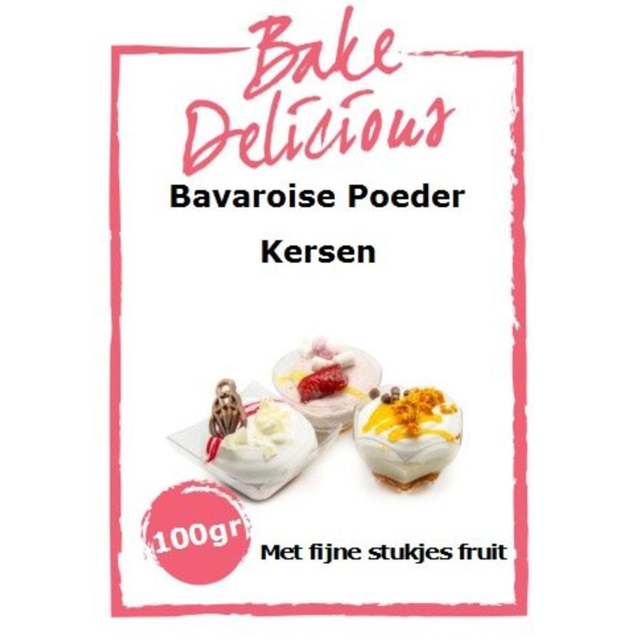 bake delicious bavarois Kersen-1