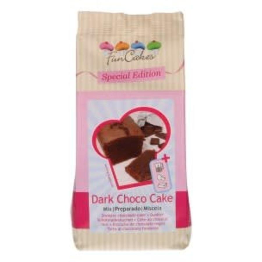 FunCakes Mix voor Donkere Choco Cake 400g-1