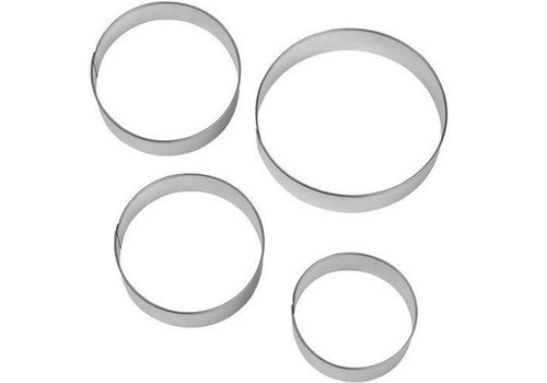 Wilton Circles Nesting Metal Cutter Set/4