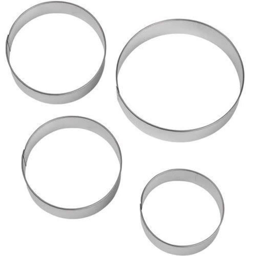 Wilton Circles Nesting Metal Cutter Set/4-1