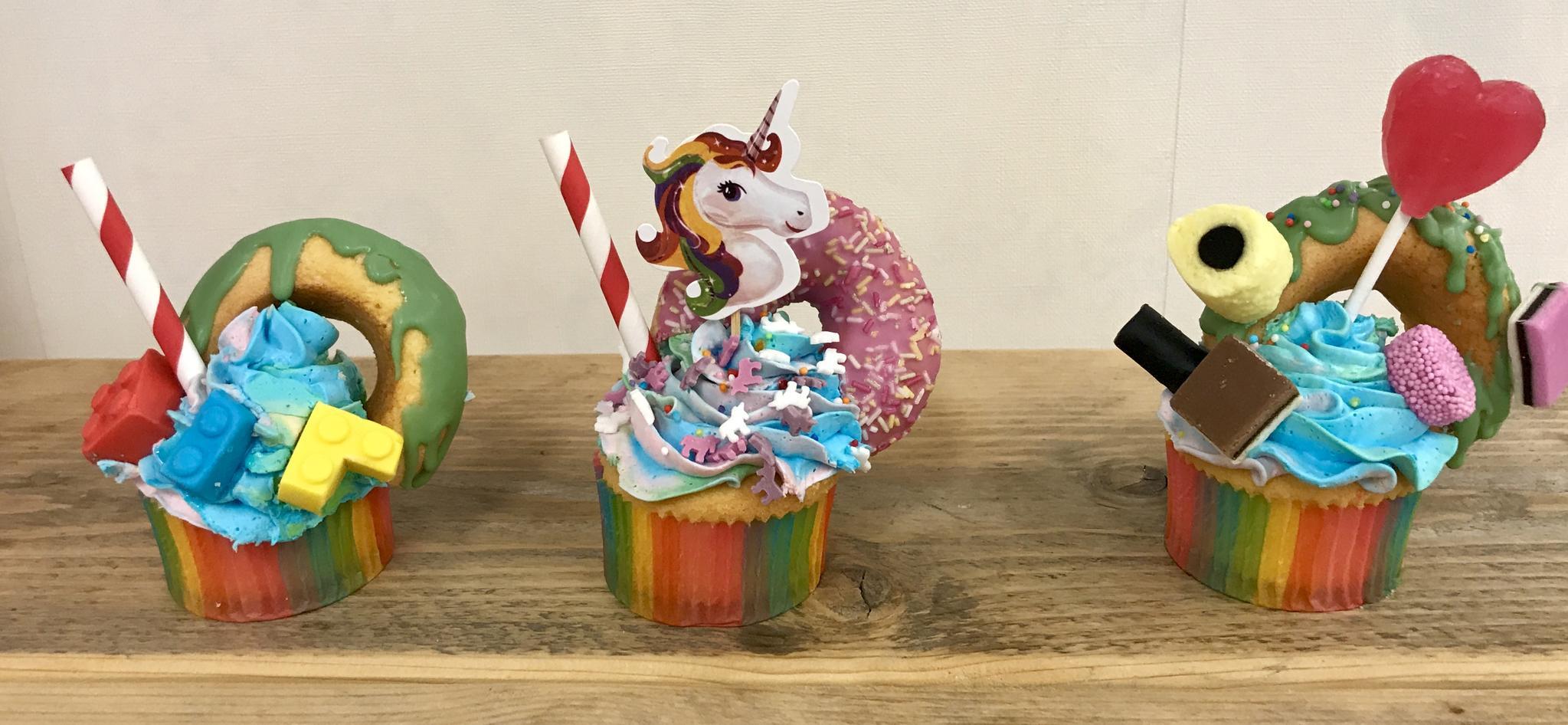 Ouder en kind workshop cupcake