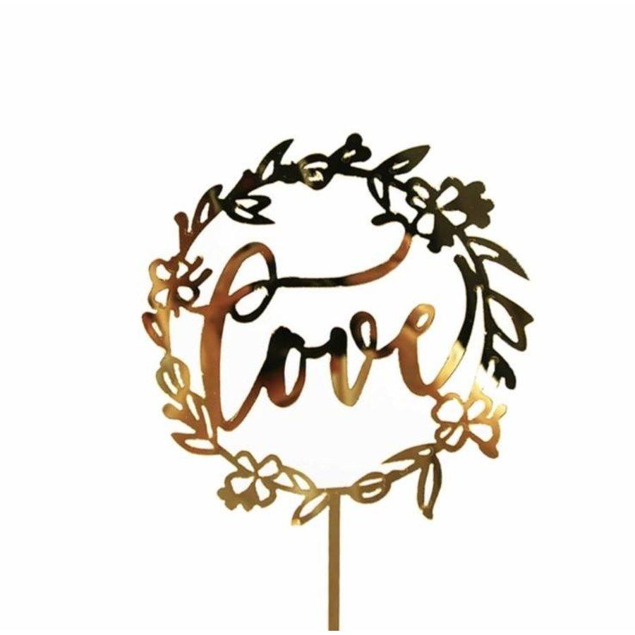 Love topper goud-1