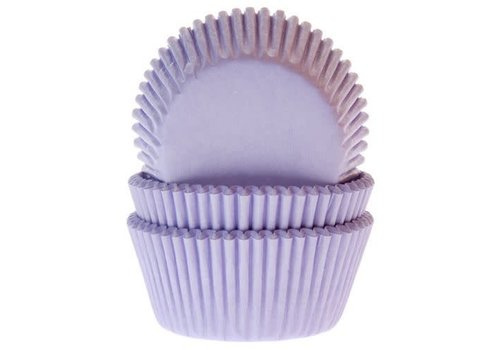 House of Marie Baking Cups Lila pk/50