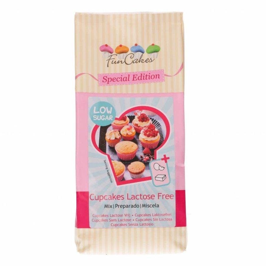 FunCakes Mix voor Cupcakes Lactose Vrij - Low Sugar 500g-1
