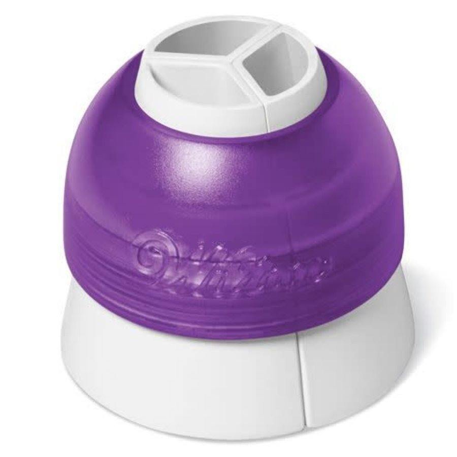 Wilton ColorSwirl Tri-Color Large Coupler-1