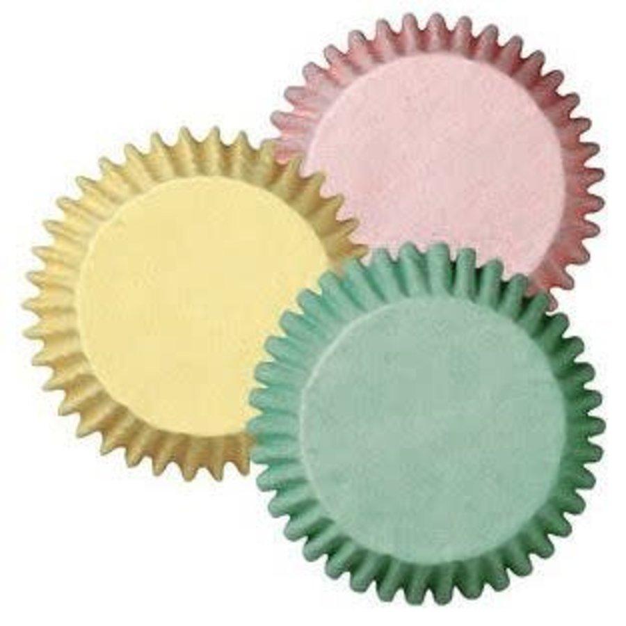 Wilton Mini baking cups Pastel pk/100-1
