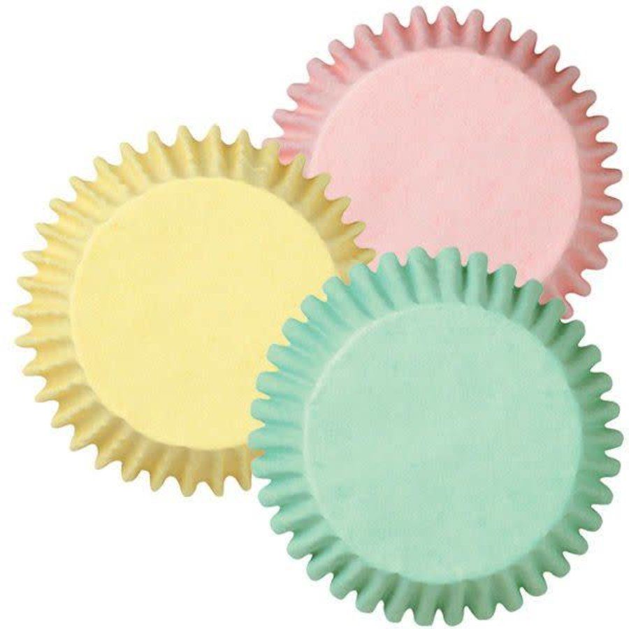Wilton Baking cups Pastel Assorted pk/75-1