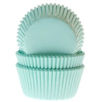 House of Marie Mini Baking Cups Mint pk/60