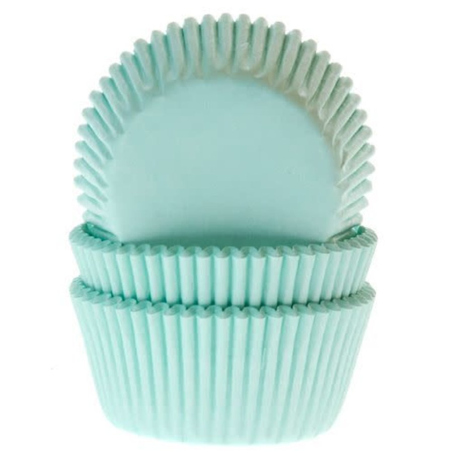 House of Marie Mini Baking Cups Mint pk/60-1