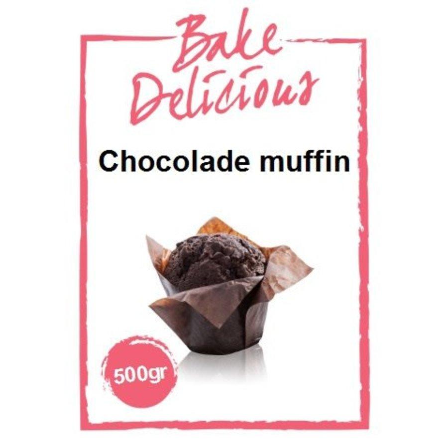 Chocolade muffin mix-1