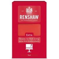 Renshaw extra fondant rood red 1 kilo