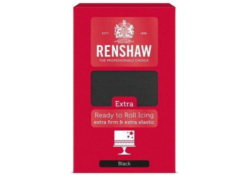 Renshaw extra fondant zwart black 1 kilo