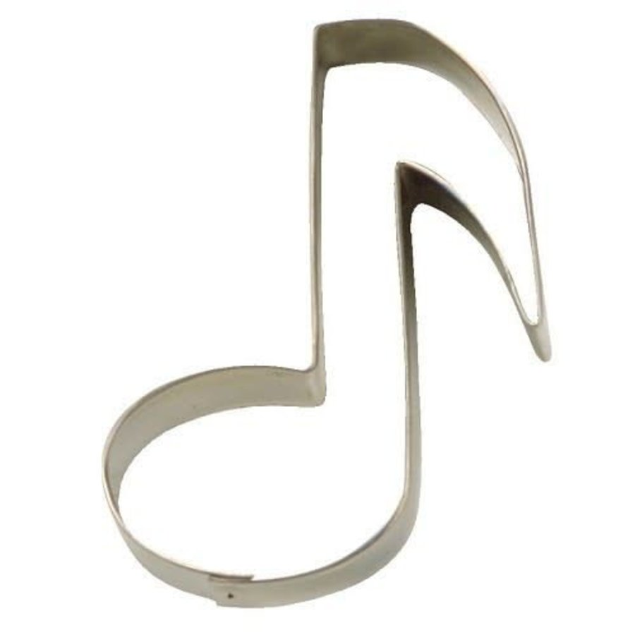 Koekjes Uitsteker muzieknoot 7 cm-1