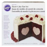 Wilton Heart Tasty-Fill Pan Set