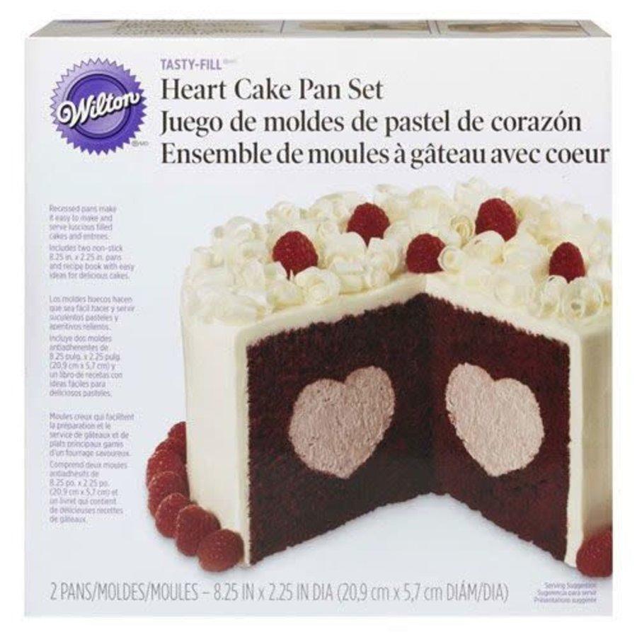 Wilton Heart Tasty-Fill Pan Set-1