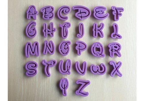 Sprookjes alphabet letters & cijfers uitstekers