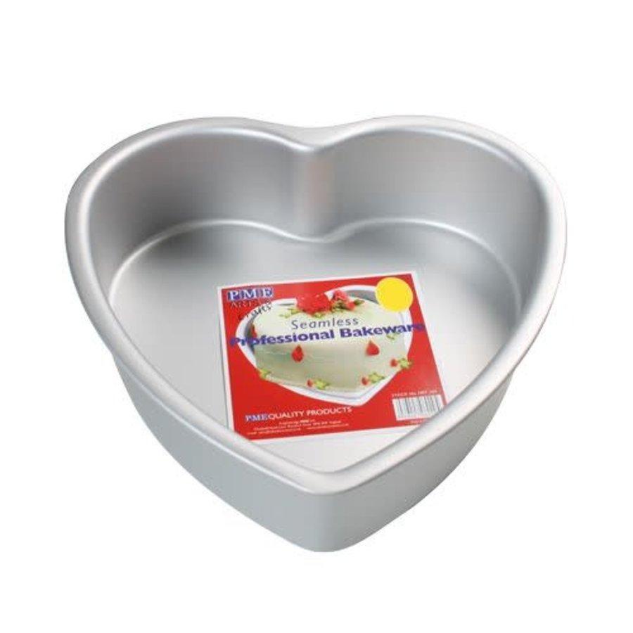 PME Deep Heart Cake Pan 30 x 7,5cm-1