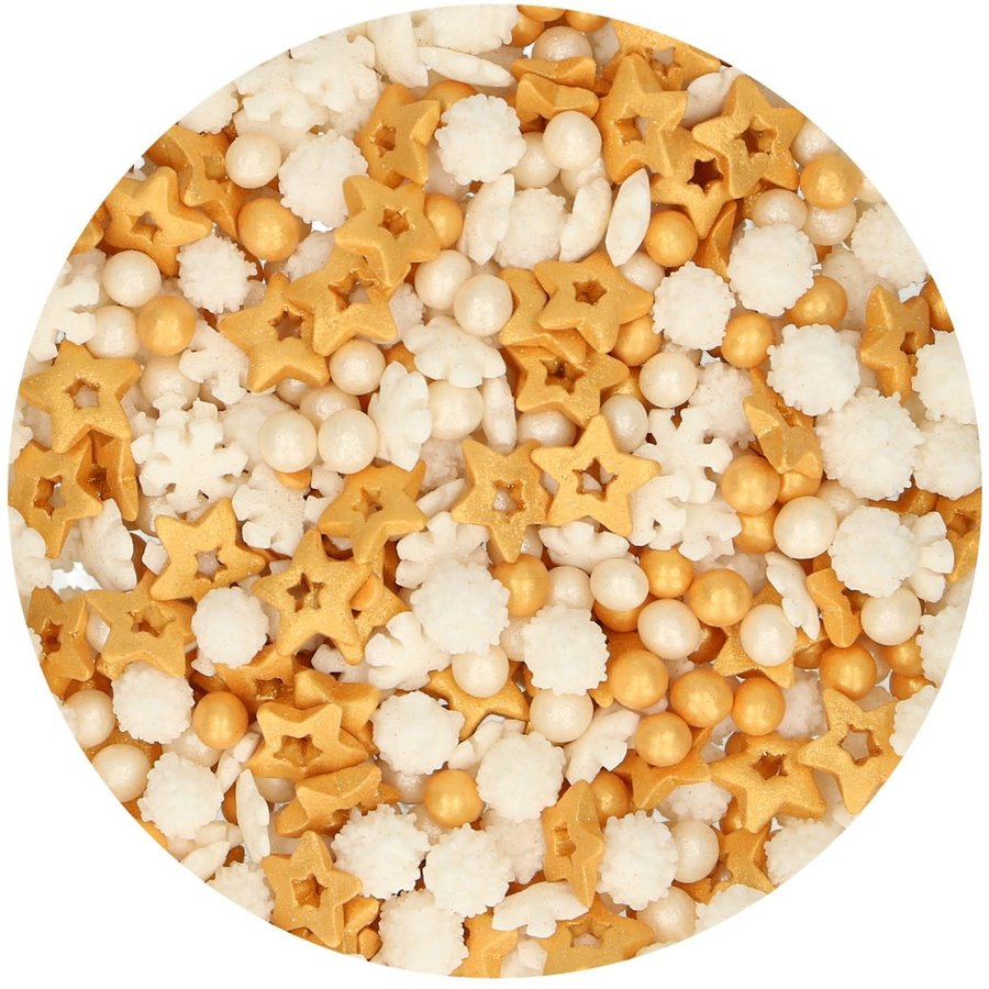 FunCakes Sprinkle Medley -Gold- 50g-1