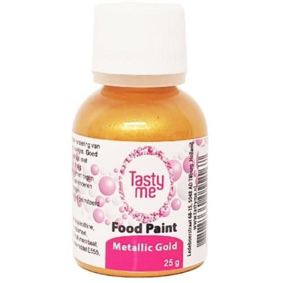 Food Paint Metallic Gold 25 gram-1