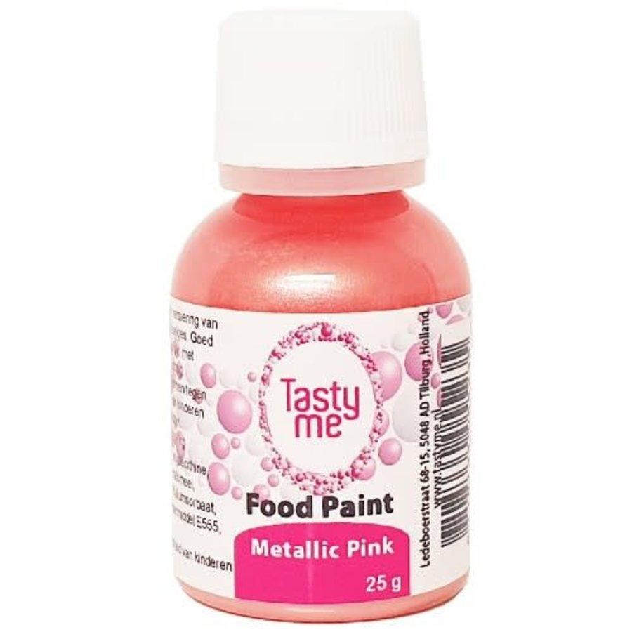Food Paint Metallic roze 25 gram-1
