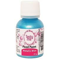 Food Paint Metallic blauw 25 gram