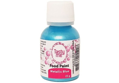 Food Paint Metallic blauw 25 gram