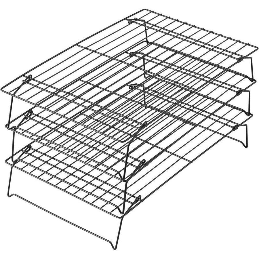 Wilton 3 Tier Stackable Cooling Rack-1