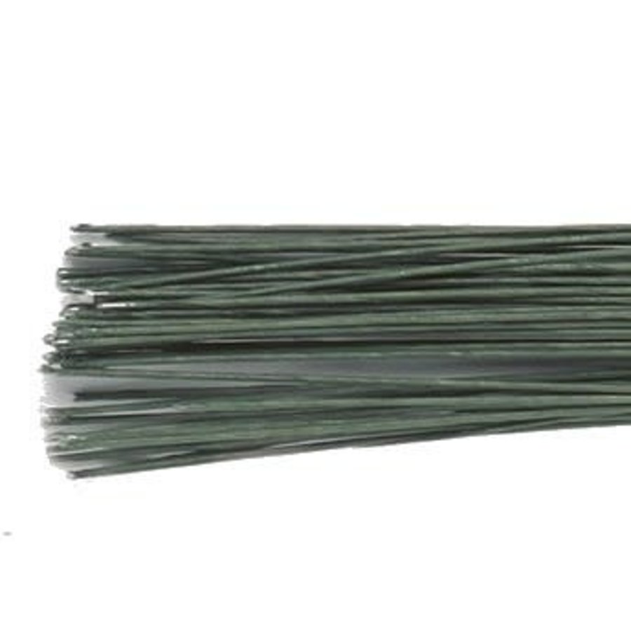 Culpitt Floral Wire Dark Green set/50 -30 gauge--1