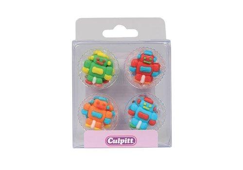 Culpitt Suikerdecoratie Robots pk/12