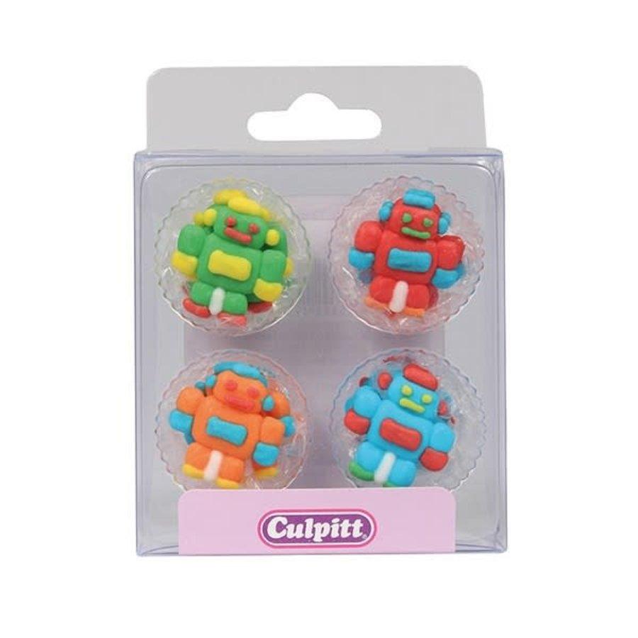 Culpitt Suikerdecoratie Robots pk/12-1