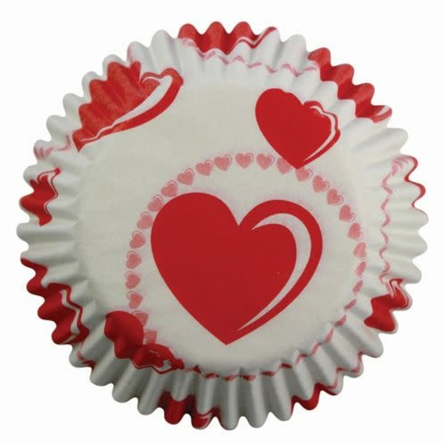 PME Baking cups Heart pk/60-1