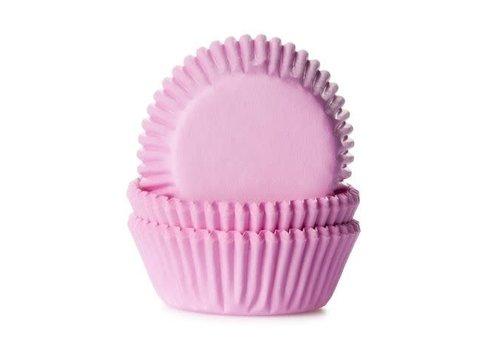 House of Marie Mini Baking cups Licht Roze - pk/60