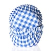 House of Marie House of Marie Mini Baking cups Ruit Blauw - pk/60