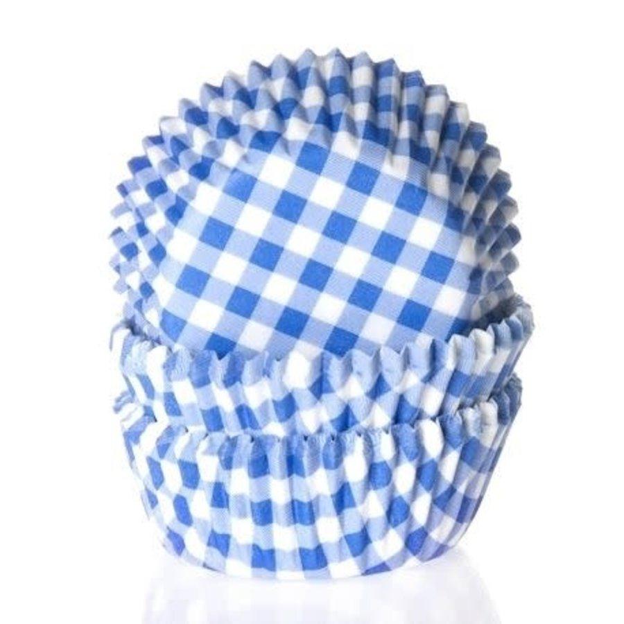 House of Marie Mini Baking cups Ruit Blauw - pk/60-1