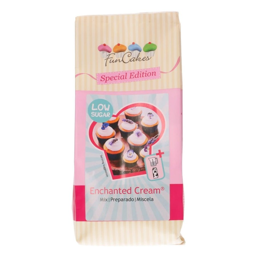 FunCakes Mix voor Enchanted Cream® - Low Sugar 400g-1