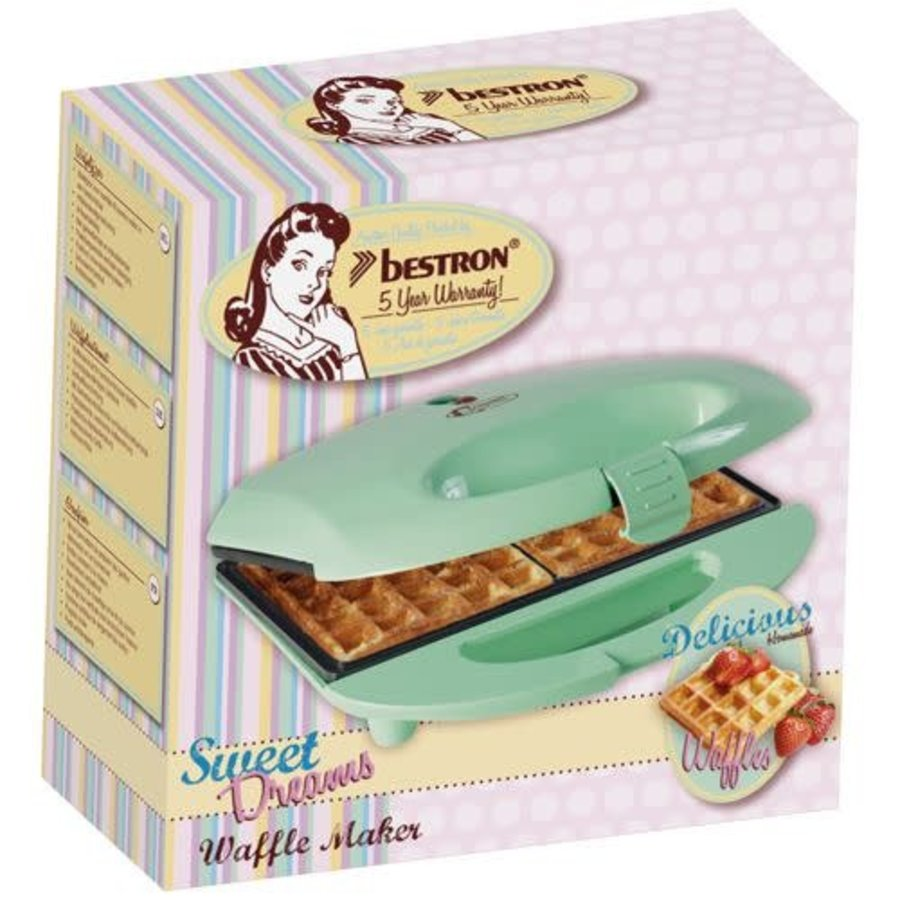 Bestron Sweet Dreams - Wafel ijzer-1