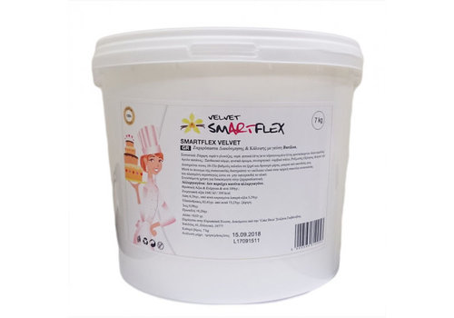SmArtflex velvet vanille wit 7kg emmer