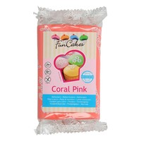 FunCakes Rolfondant -Coral Pink- 250g-