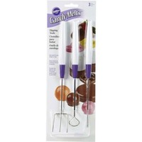 Wilton Candy Melt Dipping Tools Set/3