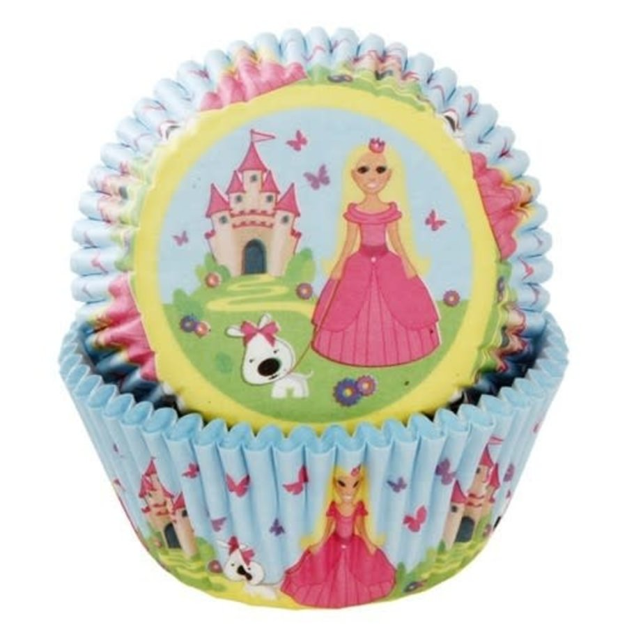House of Marie Baking Cups Prinses pk/50-1
