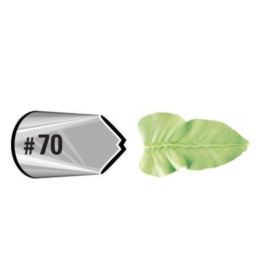 Wilton Decorating Tip #070 Leaf Carded-1