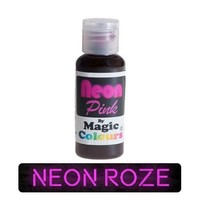 magic colours neon pink roze